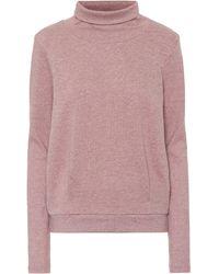 Alo Yoga Pullover Clarity mit Baumwollanteil - Pink