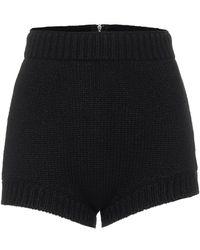 Dolce & Gabbana Shorts aus Kaschmir - Schwarz