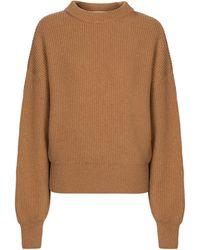 CORDOVA Jersey Megève de lana merino - Marrón