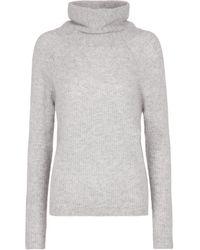 Jardin Des Orangers Ribbed-knit Cashmere Sweater - Gray