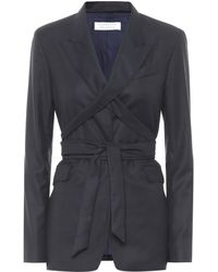 Gabriela Hearst Exclusive To Mytheresa – Nutter Wool And Silk Blazer - Blue
