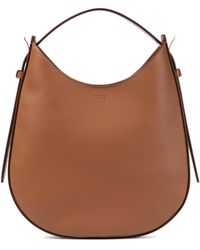 Tod's Oboe Small Leather Shoulder Bag - Brown