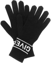 Givenchy Wool Gloves - Black