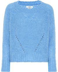 Étoile Isabel Marant Jersey Shields en mezcla de alpaca - Azul