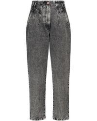 3x1 Jeans de tiro alto Jane Renew - Gris