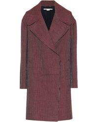 Stella McCartney - Manteau en laine - Lyst