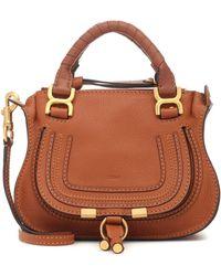Chloé - Mini sac double porté Marcie - Lyst