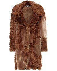 Stella McCartney - Sugar Cane Faux Fur Coat - Lyst