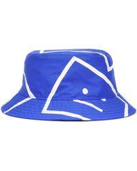 Acne Studios Sombrero de pescador Face - Azul