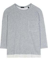 ATM - Cotton-blend Sweatshirt - Lyst