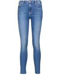 AG Jeans Farah Skinny Ankle High-rise Jeans - Blue