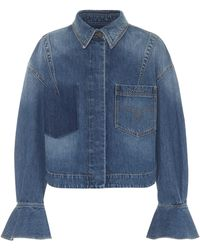 Valentino Chaqueta de jeans - Azul