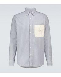 Craig Green Gestreiftes Hemd aus Baumwolle - Blau