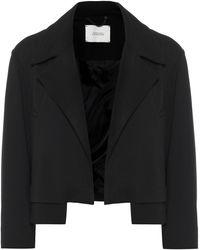 Dorothee Schumacher Emotional Essence Cropped Jacket - Black