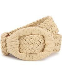 Altuzarra Straw Belt - Natural
