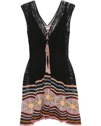 Anna Kosturova - Exclusive To Mytheresa. Com – Jennifer Cotton Crochet Dress - Lyst
