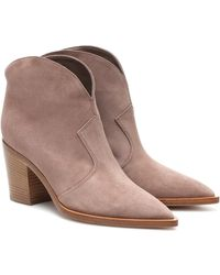 Gianvito Rossi - Ankle Boots Nevada - Lyst