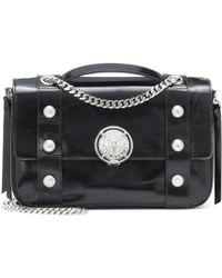 Balmain - Patent Leather Shoulder Bag - Lyst
