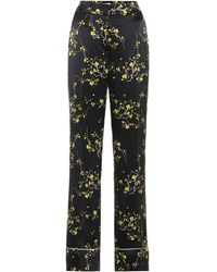 Dorothee Schumacher Cherry Blossom Silk-satin Pants - Multicolor