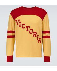 Bode Pullover Victoria aus Merinowolle - Mehrfarbig