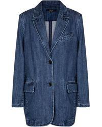 J Brand Blazer Haisley de jeans - Azul