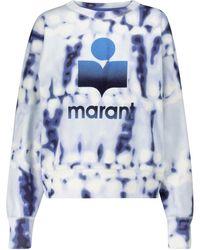 Étoile Isabel Marant Sweatshirt Mobyli aus Jersey - Blau