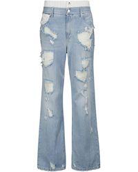 RTA Distressed Jeans Kallan - Blau