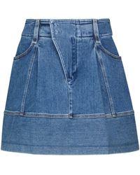 Chloé Minigonna di jeans - Blu