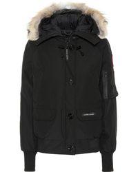 Canada Goose Chilliwack Fur-trimmed Down Jacket - Black