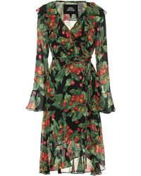 Marc Jacobs - Cherries Print Wrap Dress - Lyst