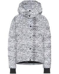 Varley Highland Snake-print Puffer Jacket - Gray