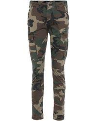 Amiri Pantalones cargo de camuflaje - Multicolor
