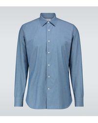 Loro Piana Camicia di jeans Arthur Preston - Blu