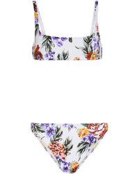 Emilia Wickstead Bea Floral Bikini - Multicolor