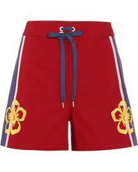 RED Valentino - Stretch-cotton Shorts - Lyst