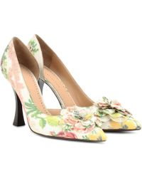 Brock Collection Exclusive To Mytheresa – Floral Court Shoes - White