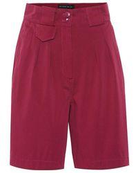 Etro Shorts in cotone stretch - Viola