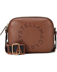 Stella McCartney Logo Strap Mini Camera Bag - Brown