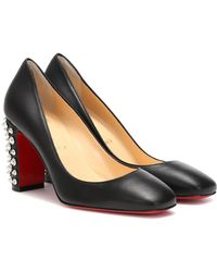 Christian Louboutin Pumps Donna Stud Spikes 85 in pelle - Nero