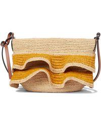 Loewe Paula's Ibiza Raffia Shoulder Bag - Natural