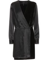 Rag & Bone Kleid aus Seide - Schwarz
