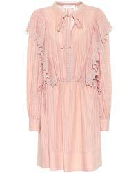 See By Chloé Minikleid aus Baumwoll-Voile - Pink