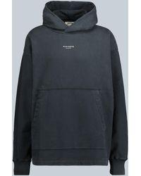 Acne Studios Franklin Hooded Sweatshirt - Black
