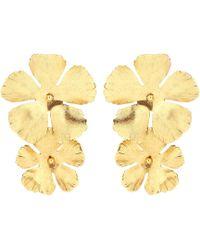 Jennifer Behr - Floral Earrings - Lyst