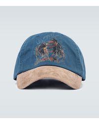 Polo Ralph Lauren Esclusiva Mytheresa - Cappello da baseball in cotone - Blu