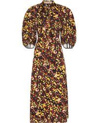 Marni - Printed Cotton Dress - Lyst