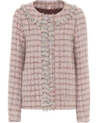 Brock Collection Pastor Tweed Jacket - Pink