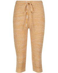 Christopher Esber High-Rise Leggings aus Rippstrick - Orange