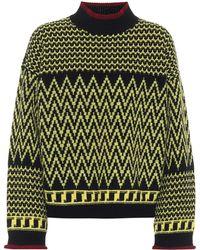 Stella McCartney Pullover aus Schurwolle - Mehrfarbig