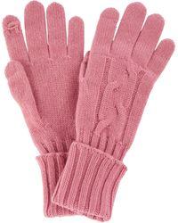Loro Piana Handschuhe aus Kaschmir - Pink